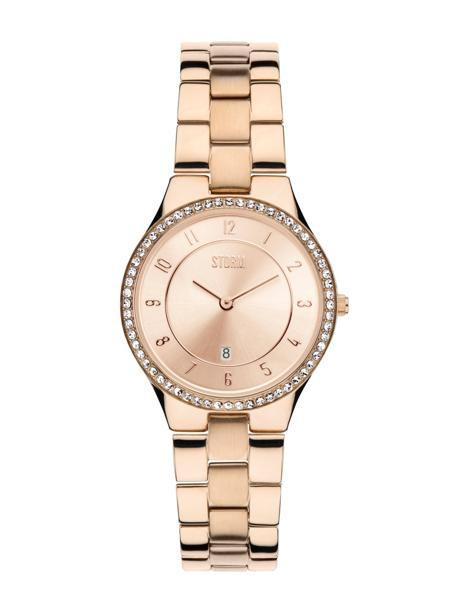 STORM Slim-X Crystal Rose Gold Watch