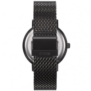 Storm Remi V2 watch with mesh strap and red glass