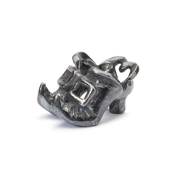 Trollbeads Witch Shoes Silver Bead
