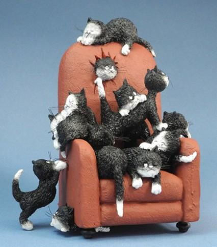 The Cats of Dubout 'Save Me A Seat'