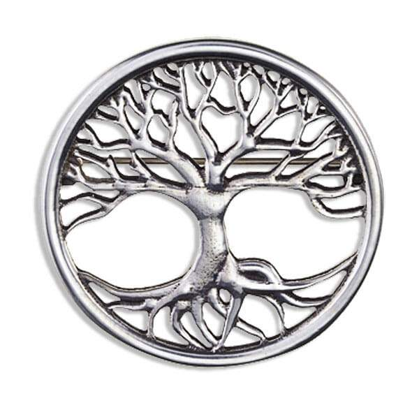 Tree of Life Brooch Brooches St Justin