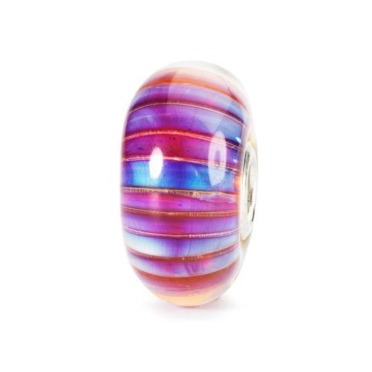 Trollbeads Aurora Stripe Glass Bead