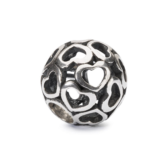 Trollbeads Blanket of Love Silver Bead
