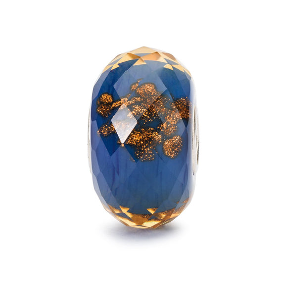 Trollbeads Blue Twinkle Glass Bead