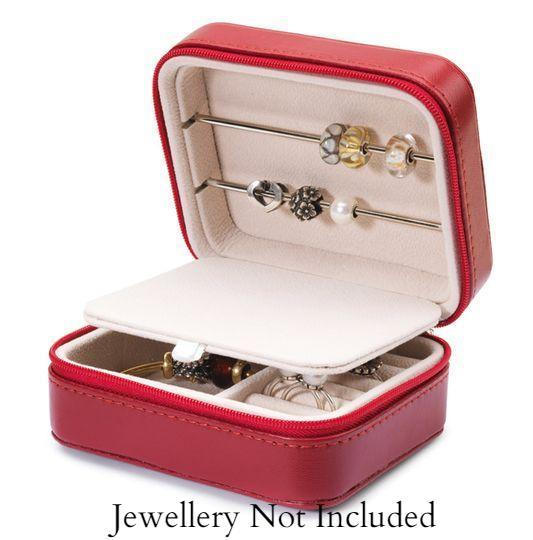 Trollbeads Burgundy Jewellery Box