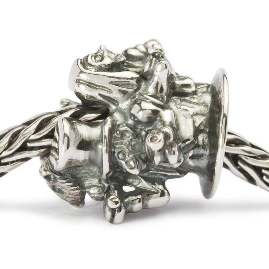 Trollbeads English Tea Party Silver Bead