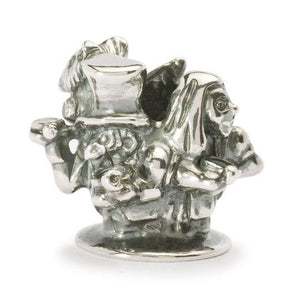 Trollbeads English Tea Party Silver Bead Trollbeads Trollbeads