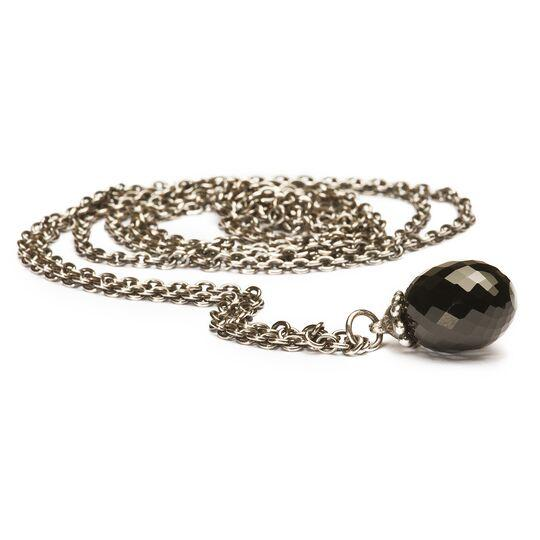 Trollbeads Fantasy Necklace with Onyx Trollbeads Trollbeads 100cm