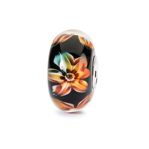 Trollbeads Flowers of Poise Glass Bead