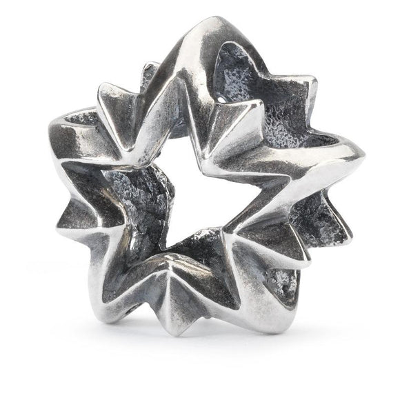 Trollbeads Guiding Star Silver Bead