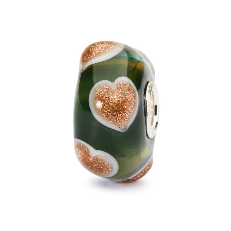 Trollbeads Hearts of Hope Glass Bead