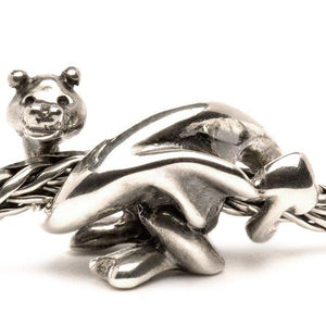 Trollbeads Lucky Dragon Silver Bead