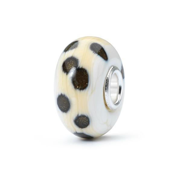 Trollbeads Marble Dot Glass Bead