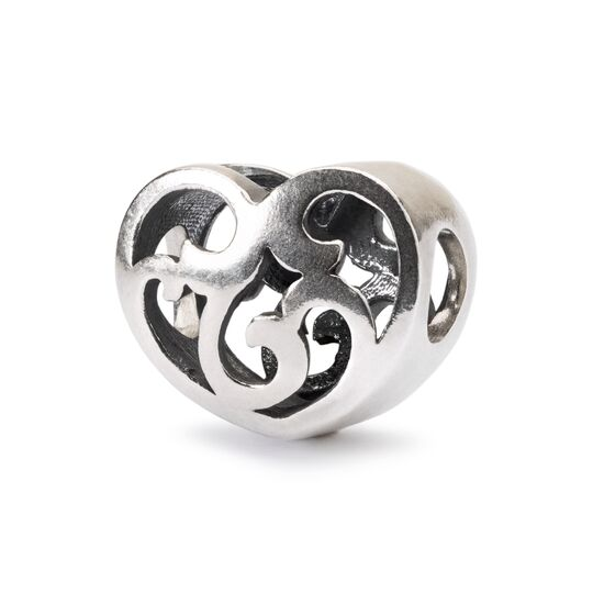 Trollbeads Passion Swirl Silver Bead