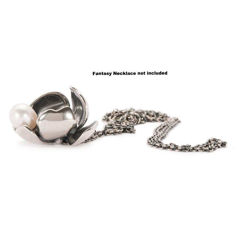 Trollbeads Shadow Flower Pendant