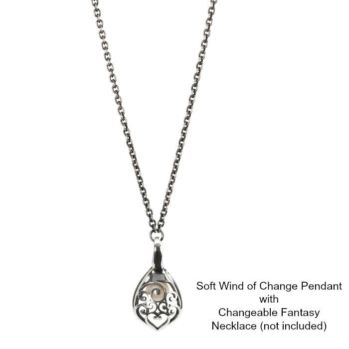 Trollbeads Soft Wind of Change Pendant