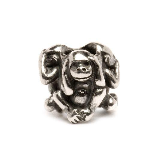 Trollbeads Three Monkeys Bead Trollbeads Trollbeads