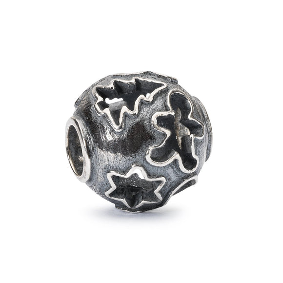 Trollbeads Tiny Cookie Joy Silver Bead