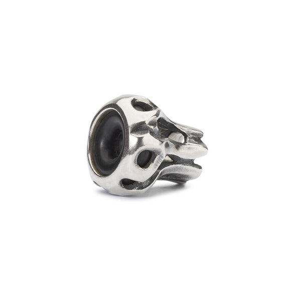Trollbeads spacer with rubberised centre for holding  beads in place