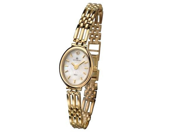 Accurist 9ct Gold Ladies Watch with Diamond 8803