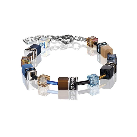 Coeur de Lion Blue Brown Beige Bracelet 2838/30-0732