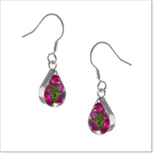 Flower Jewellery Heather Earrings