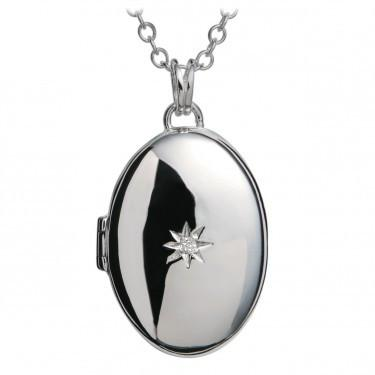Hot Diamonds Silver Inheritance Locket