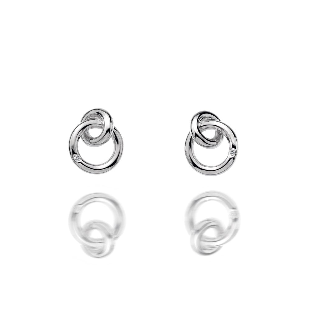 Hot Diamonds Silver Eternal Earrings DE308 Earrings Hot Diamonds