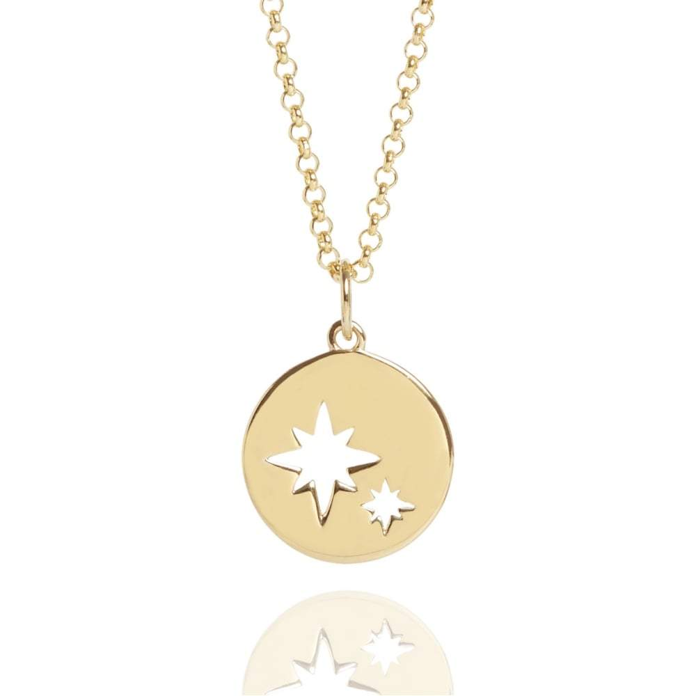 Mother & Child My Little Star Disc Necklace Jewellery Muru