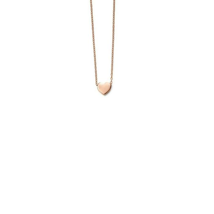 9ct rose gold heart necklace jools jewellery joolsjewellery rose gold heart necklace rose gold heart necklace aloadofball Choice Image