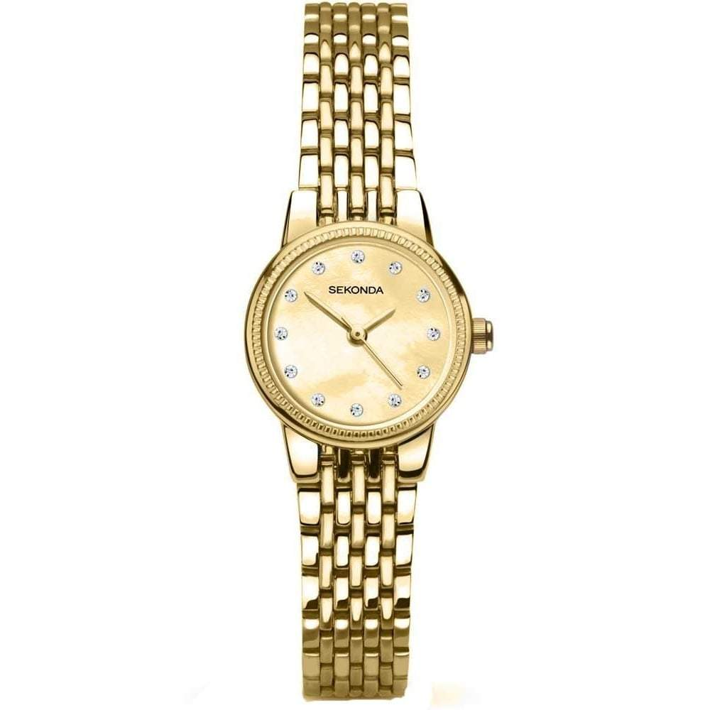 Sekonda Ladies Watch with Gold-Plated Bracelet 2466