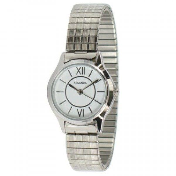 Sekonda Ladies Watch with Expanding Strap 4021B Watches Sekonda