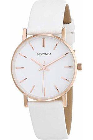 Sekonda Rose Gold and White Ladies Watch 2887