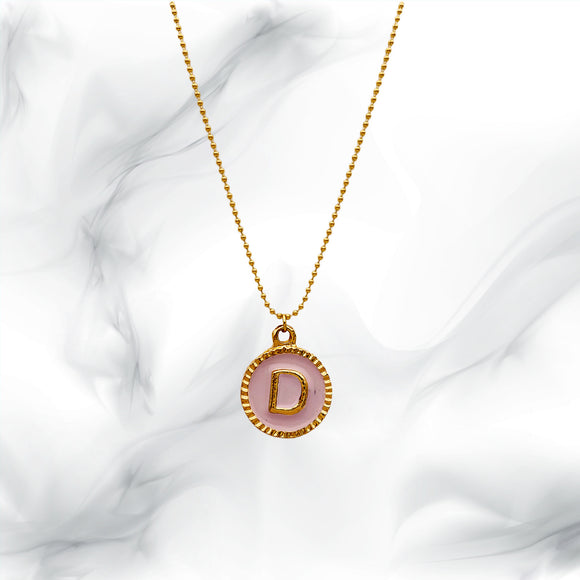 Letters Necklaces D