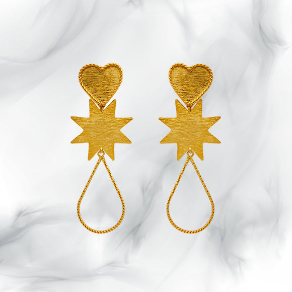 Love Star Earrings