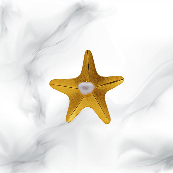 Starfish Perla Ring