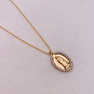Guadalupe Bling Necklace