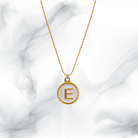 Letters Necklace E