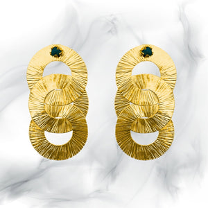 Link Esmeralda Earrings