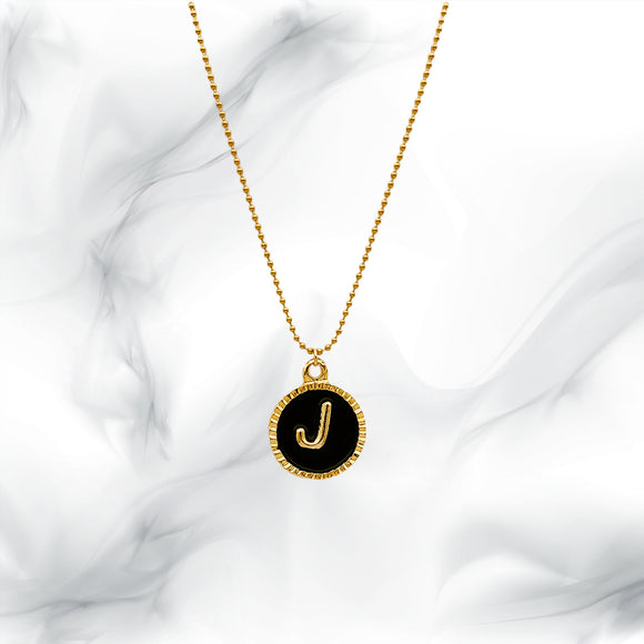 Letters Necklaces J