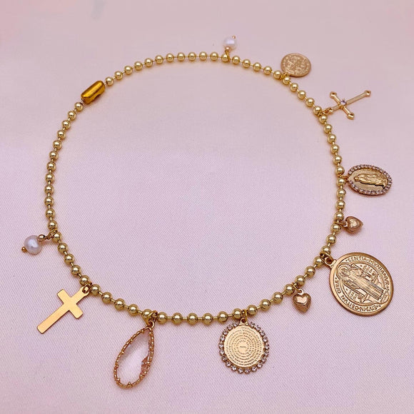 Faith Charms Necklace