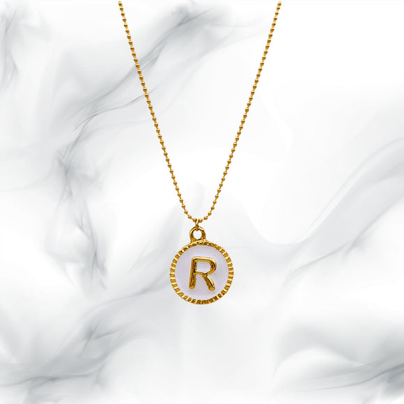Letters Necklaces R