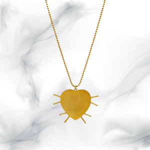 Spike Heart Necklace
