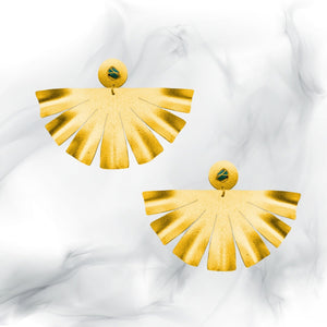 Fan Esmeralda Earrings
