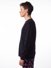 Cut Side Knit Vneck