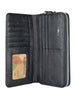 Spring Clutch Wallet-Black