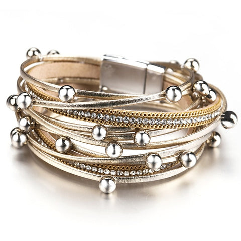Amorcome Multi layer Bracelets