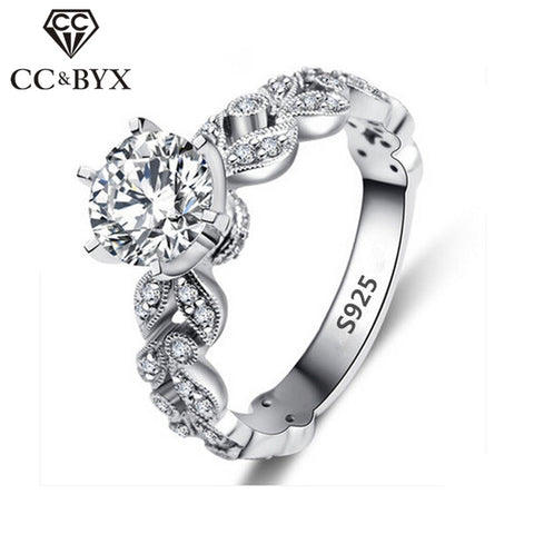 1.5 Carat Cubic Z Engagement Rings