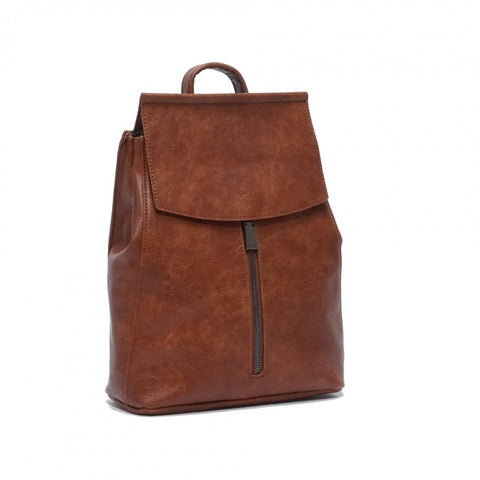 Chloe Convertible Backpack Brown