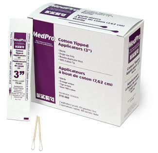 AMG Medical Cotton Tipped Applicators (3